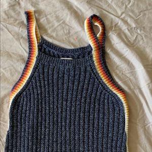 American eagle sweater tank top